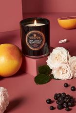 voluspa pink citron grapefruite classic candle 9.5oz