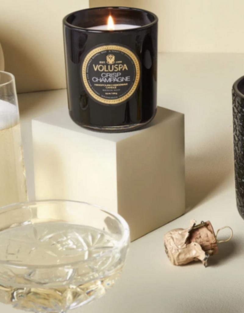voluspa crisp champagne classic candle 9.5oz