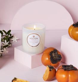 voluspa saijo persimmon classic candle 9.5oz