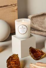 voluspa suede blanc classic candle 9.5oz