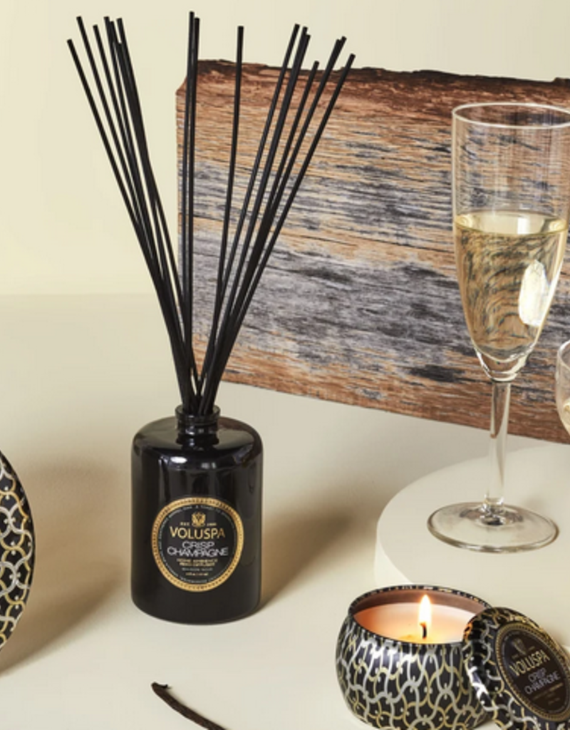 voluspa crisp champagne fragrance diffuser 6oz