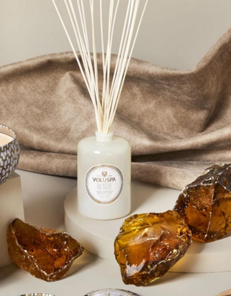 voluspa suede blanc fragrance diffuser 6oz