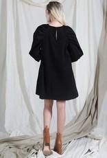 katey puff sleeve dress final sale