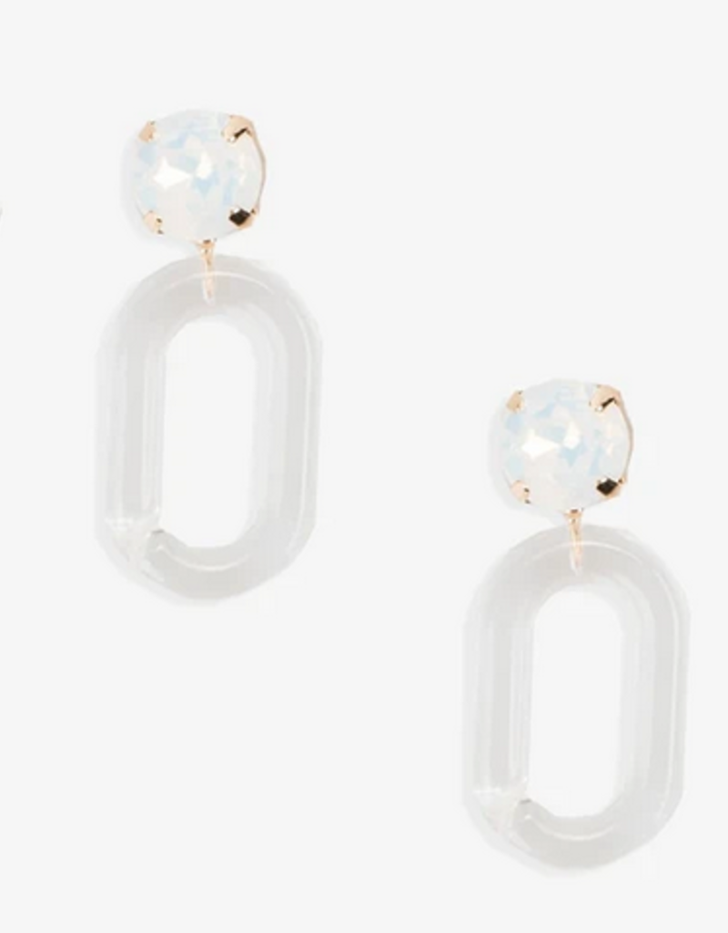 violet & brooks claire lucite post earring