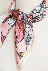 violet & brooks camilla watercolor satin scarf