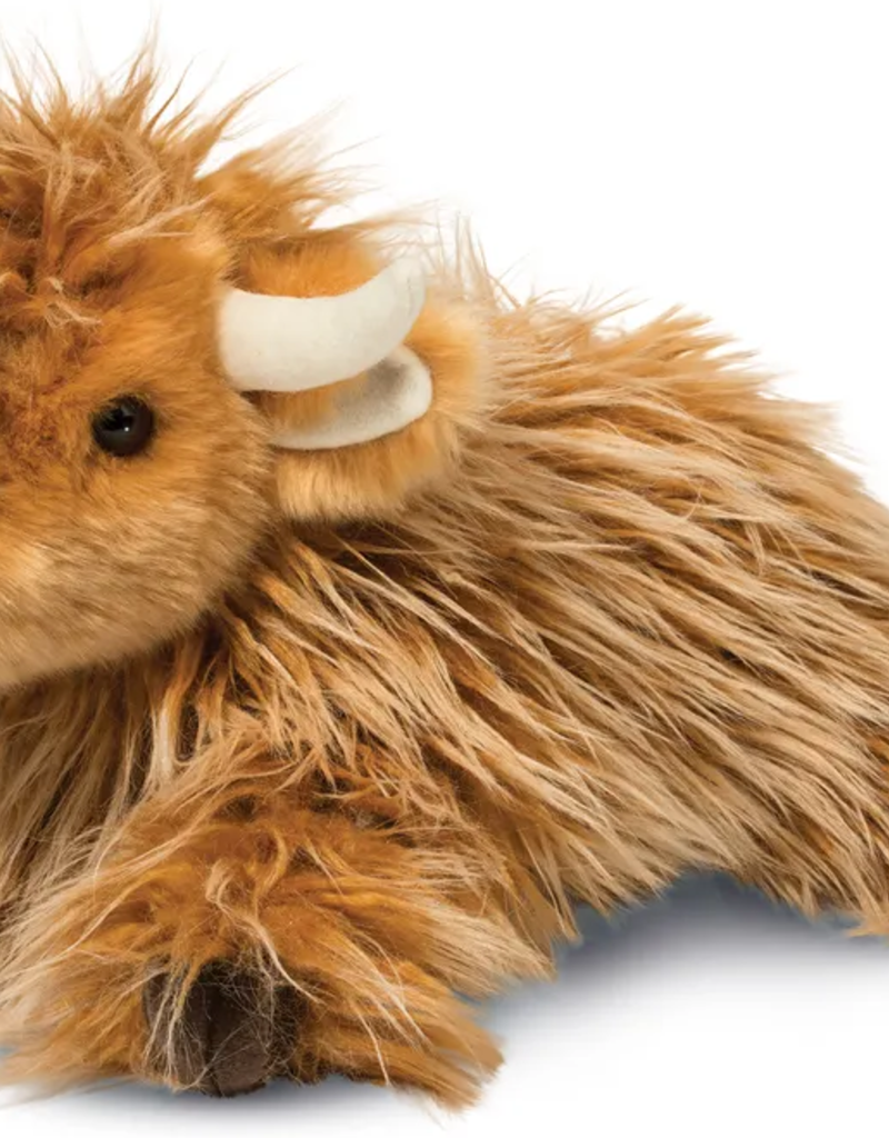 wallace highland cow plushie