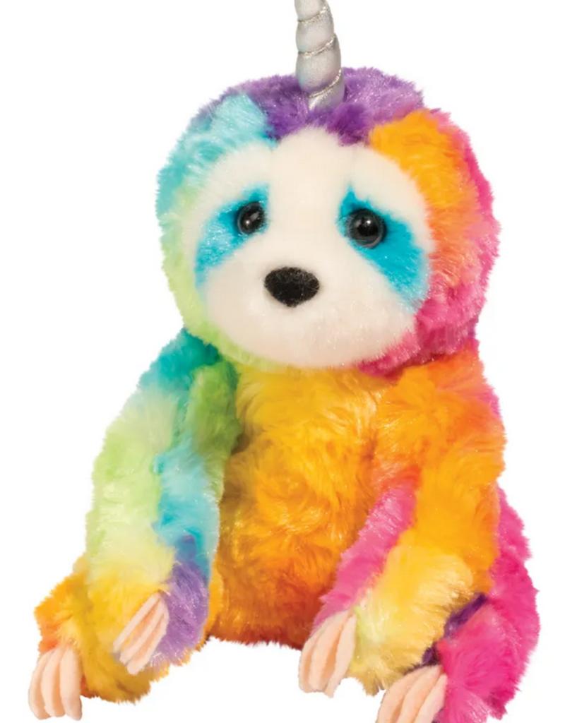 douglas toys rainbow slothicorn plushie