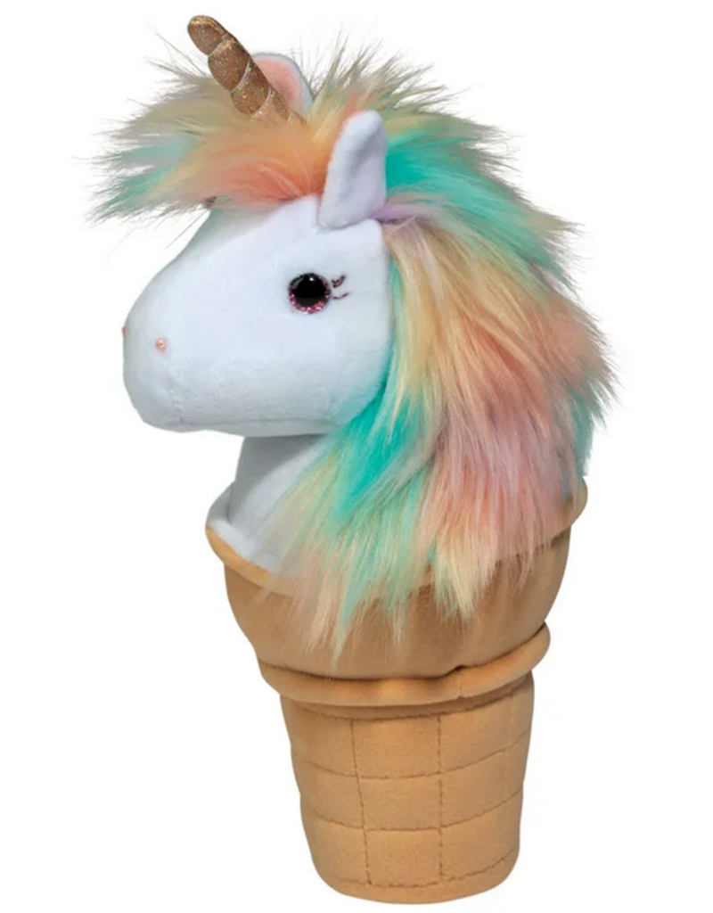 douglas toys unicorn ice cream cone plushie
