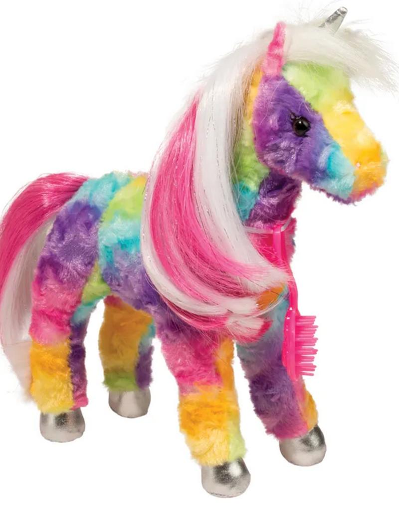 douglas toys jacinta rainbow unicorn plushie