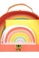 love vivid rainbow boxed writing set