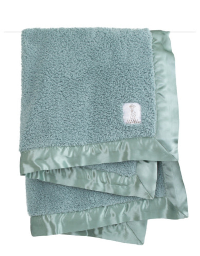 "chenille baby blanket 29"" x 35"""
