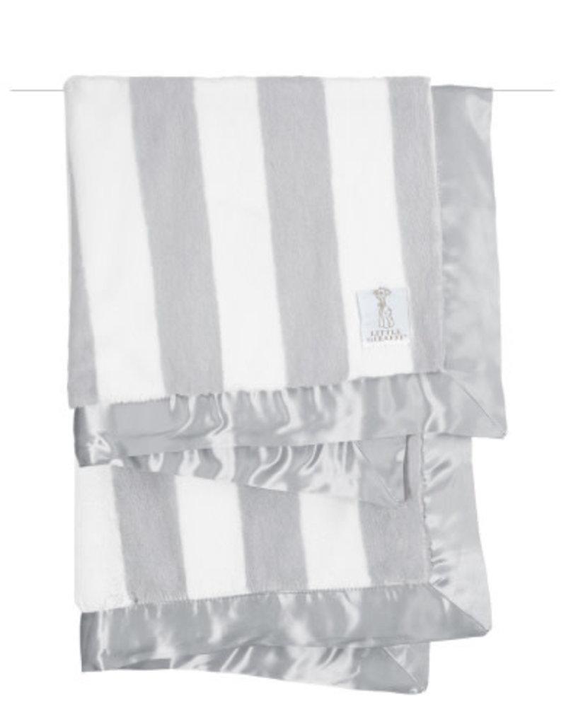 luxe hamptons striped baby blanket