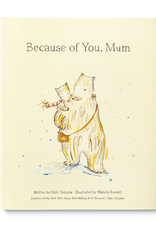 because of you mom book