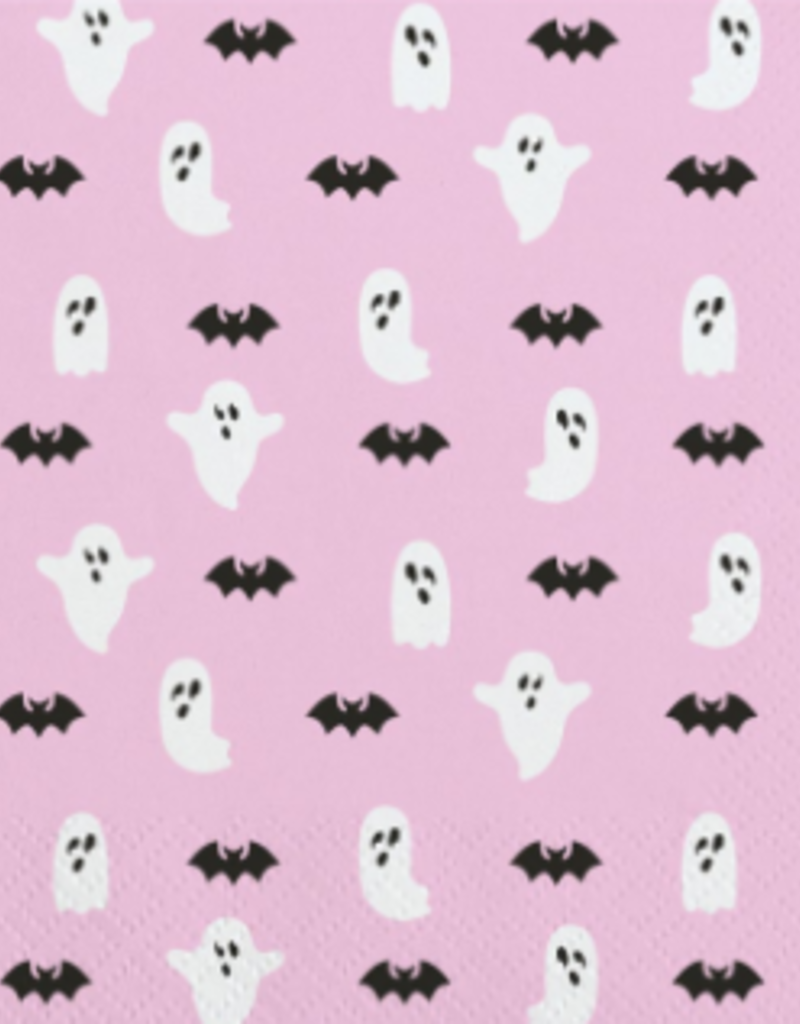 ghosts & bats napkin set of 20