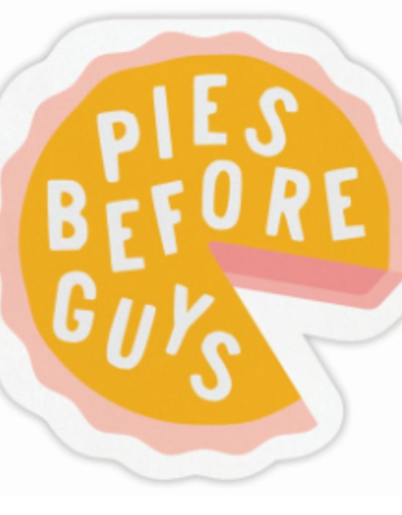 pies before guys napkin set of 20