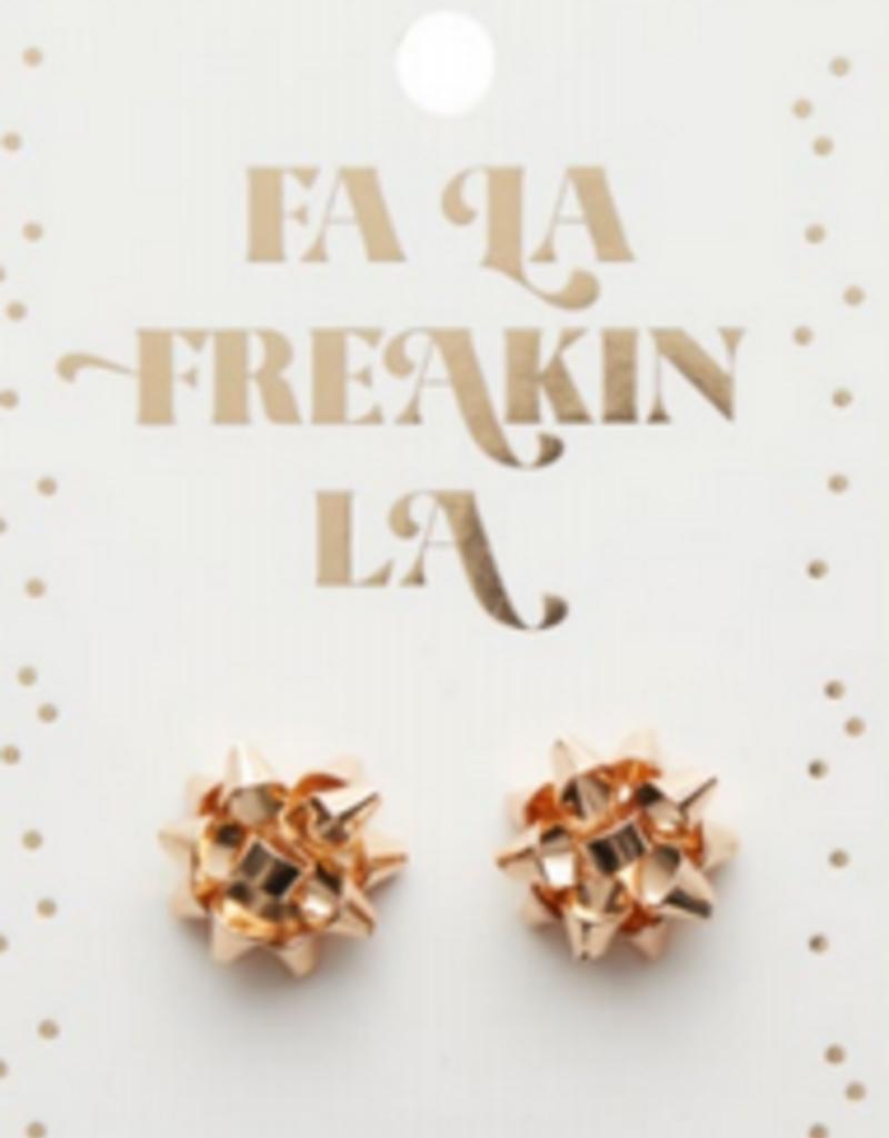 fa la freakin la earrings