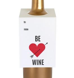chez gagne be wine wine tag FINAL SALE