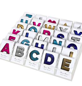 meri meri faux leather letter sticker final sale