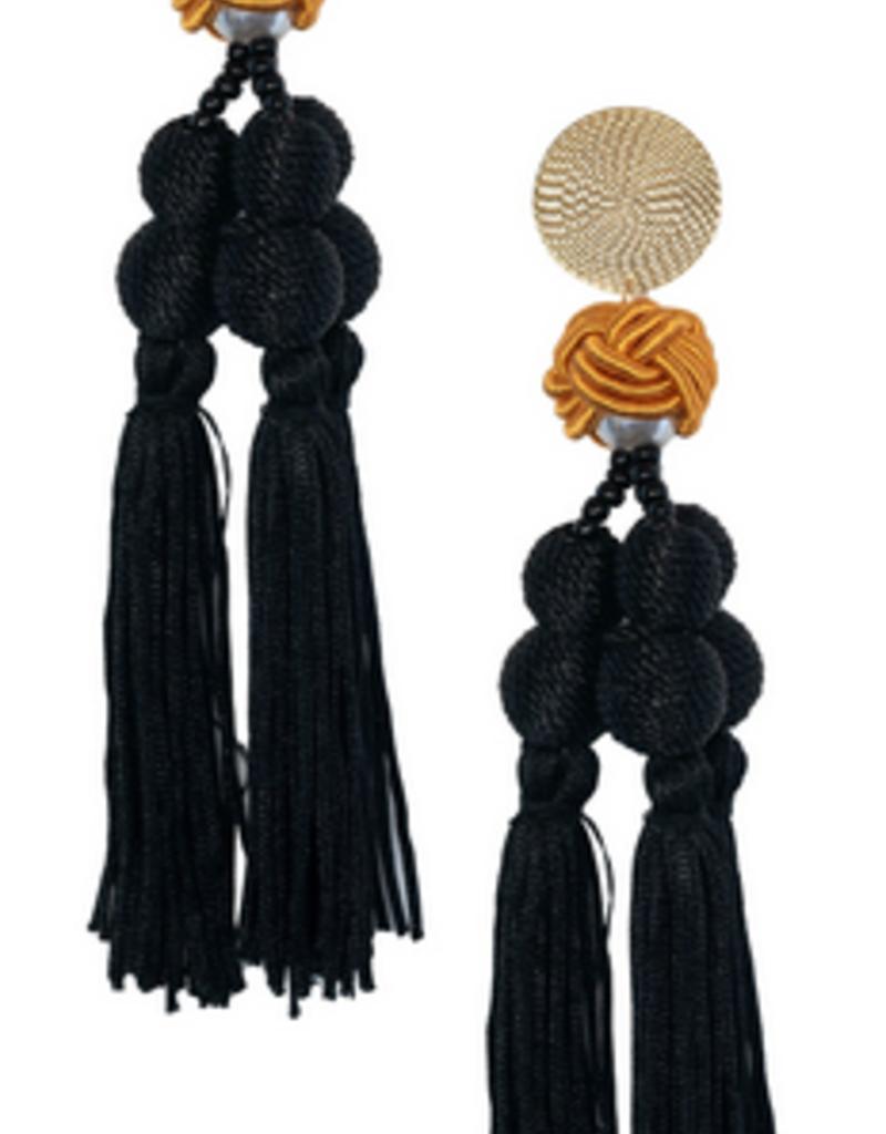 encanto navy earrings final sale