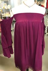 enchante off shoulder dress FINAL SALE