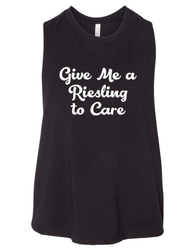 R+R give me a riesling to care crop top FINAL SALE