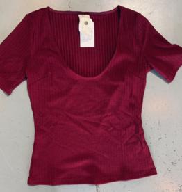 adra rib knit top final sale