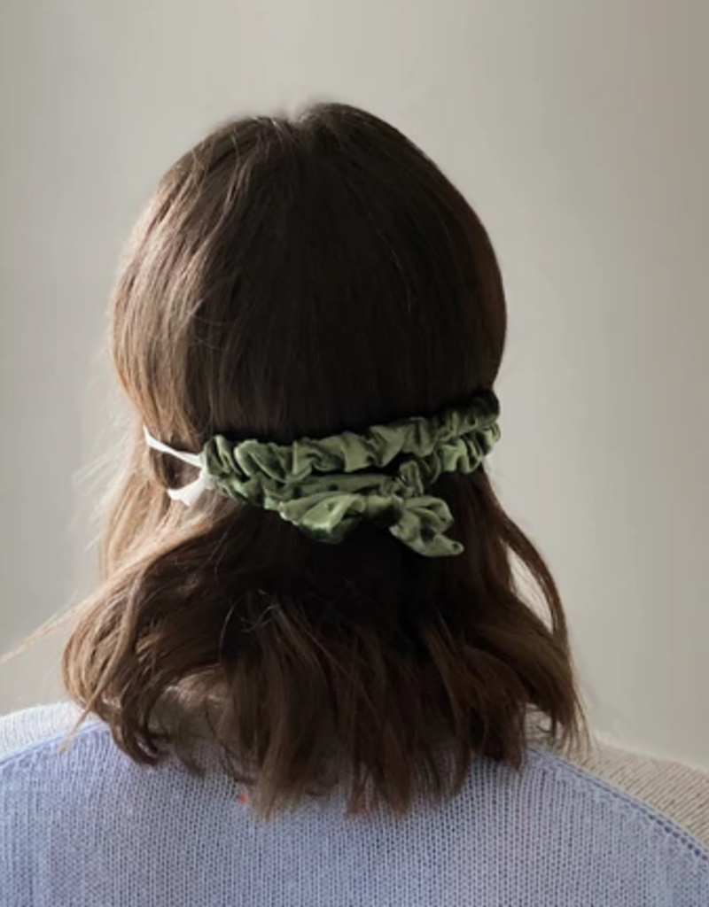 violet & brooks velvet ear saver scrunchie FINAL SALE