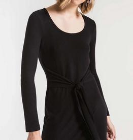 z supply the marled wrap dress final sale