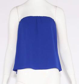 true blue strapless top final sale