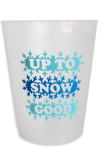 packed party up to snow good cup stack FINAL SALE