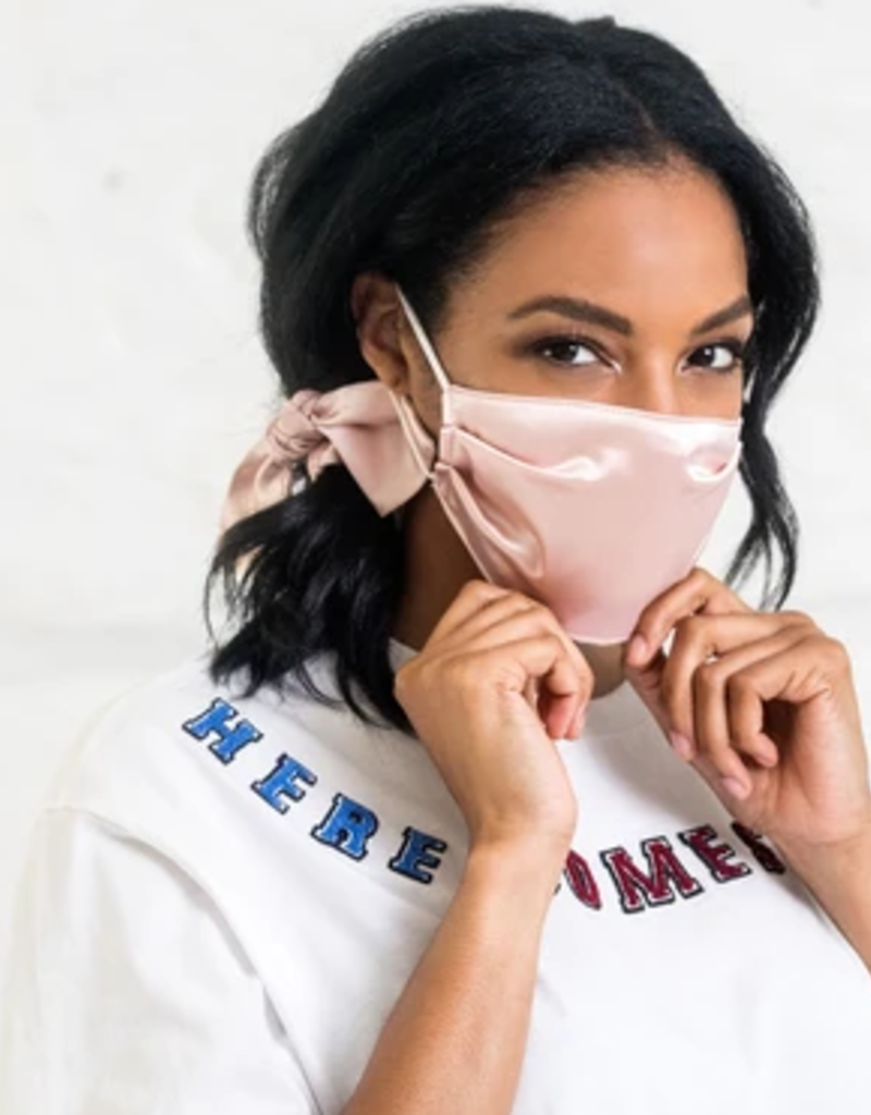 violet & brooks scarlett mask & scrunchie gift set final sale