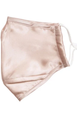 adult satin mask with 2 filters FINAL SALE