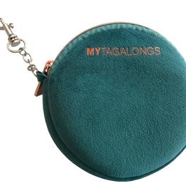 my tagalongs mask pouch vixen teal FINAL SALE