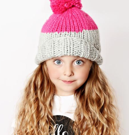 The Blueberry Hill millie knit hat final sale