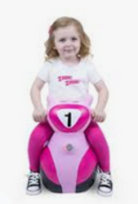 scooter bouncy toy - pink FINAL SALE
