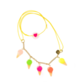 lilies & roses kids charm necklace