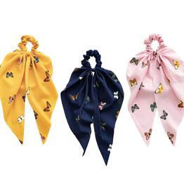 Mavi Bandz butterfly scarf scrunchie