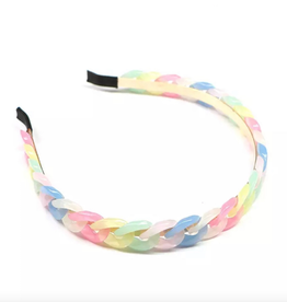 Mavi Bandz glam chain headband - rainbow
