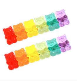 gummy bear hair clip set