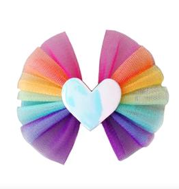 tule hair bow