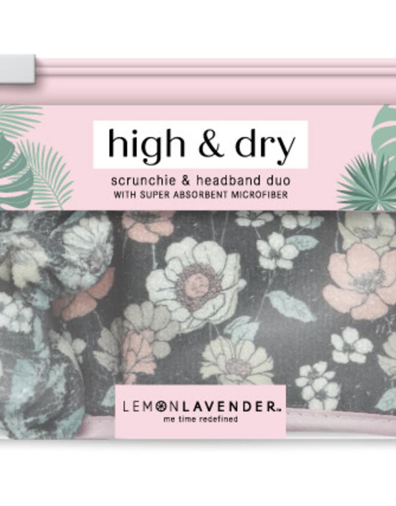microfiber scrunchie & headband set