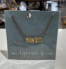 moonchild gold necklace final sale