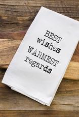Aspen Lane best wishes towel