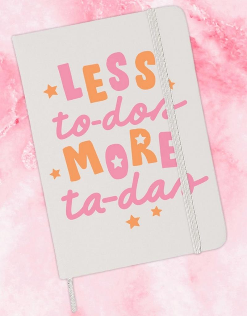 less to dos journal - white