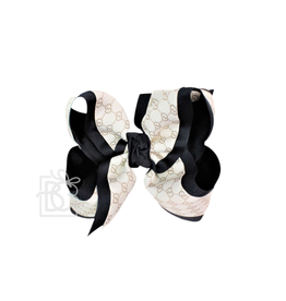 Beyond Creations layered designer bow clip