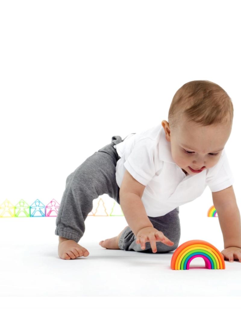 neon rainbow toy - large