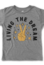 rivet apparel kids living the dream tee