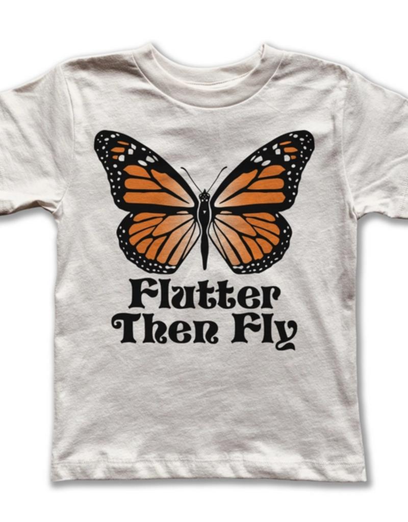 rivet apparel kids flutter then fly tee