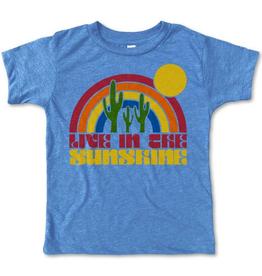 rivet apparel kids live in the sunshine tee