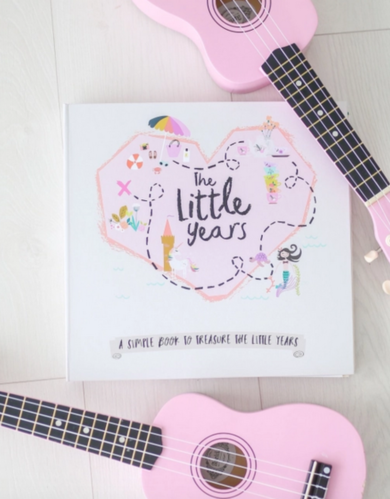 little years toddler book - girl